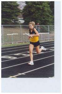 Me, Junior Year Track