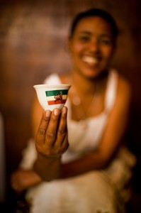 Coffee in Addis Ababa, Photo by Travis Horn
