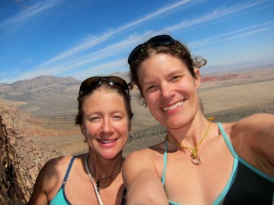 Kate Rutherford and Majka Burhardt, Red Rocks 2012