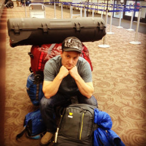James Q Martin, Lost Mountain Cinematographer, Ready to go... back home for now