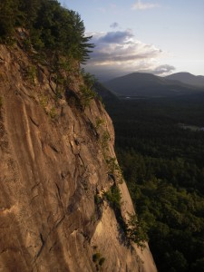 Cathedral Ledge, Photo by Peter Doucette