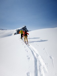 Heli Ski Touring, the Ski-Touring Part
