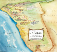 Waypoint Namibia DVD Map